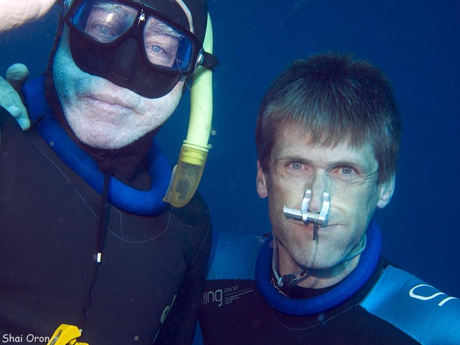 Training David Kent - a Freediving Champion 2