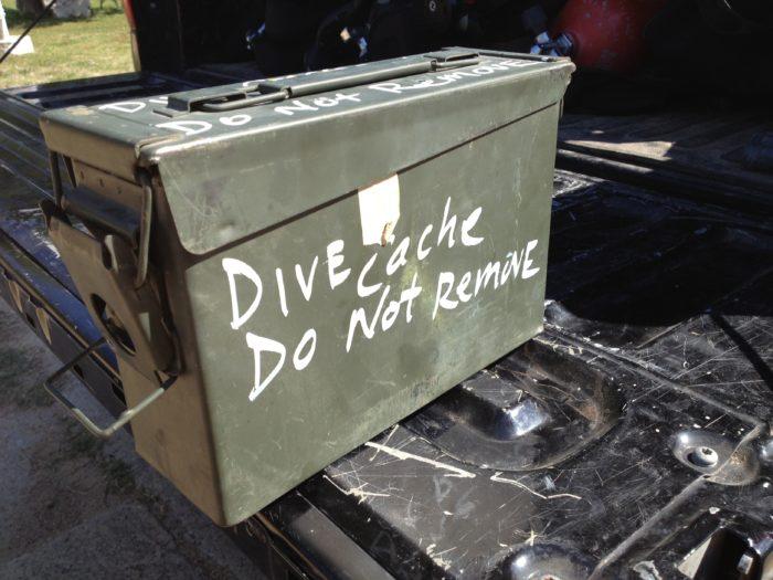 Dive Caching Bonaire