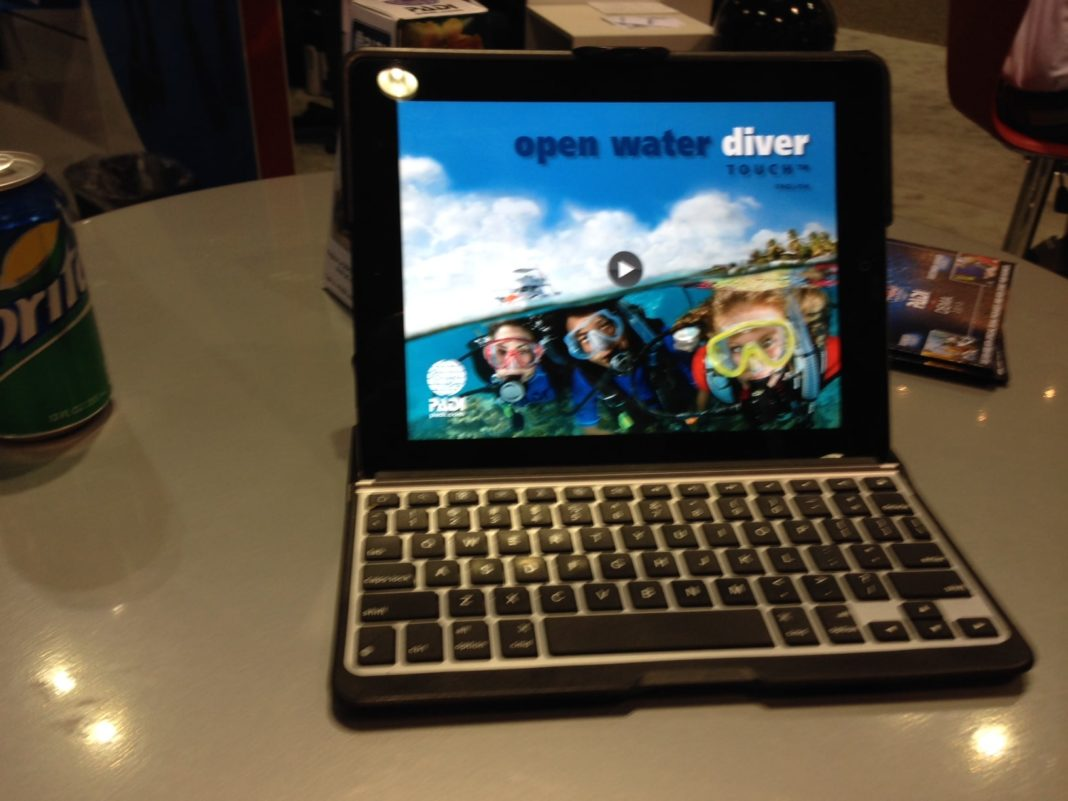 PADI To Release Tablet Versions Of Open Water Diver Manual 1