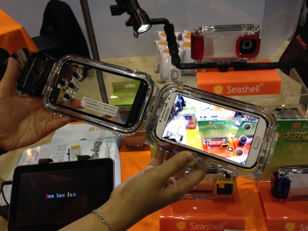 Zear Corp Introduces New Seashell Underwater Housing For Galaxy Smart Phones 2