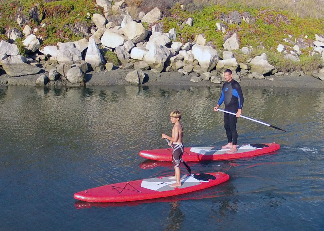 Unified Team Diving Introduces Inflatable Stand-Up Paddle Board At DEMA Show 1