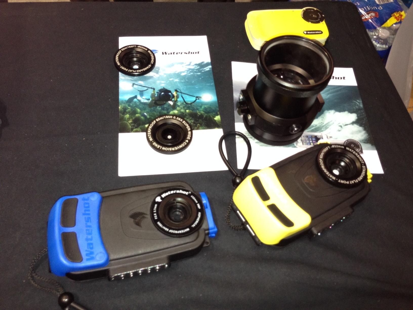 Watershot Unveils Prototype Underwater Camera DSLR Lens For iPhone & Galaxy