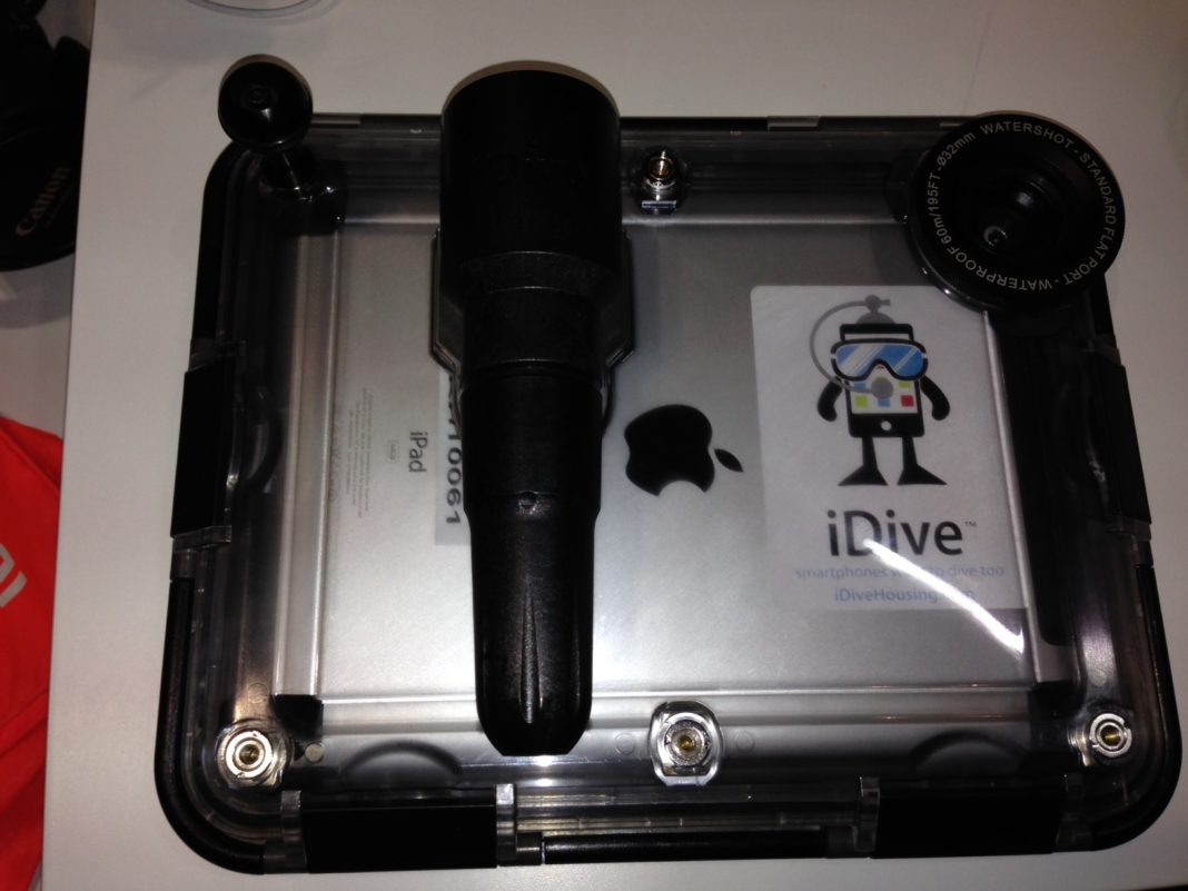 iDive Introduces Latest Version Of iPad Underwater Case At DEMA Show 2