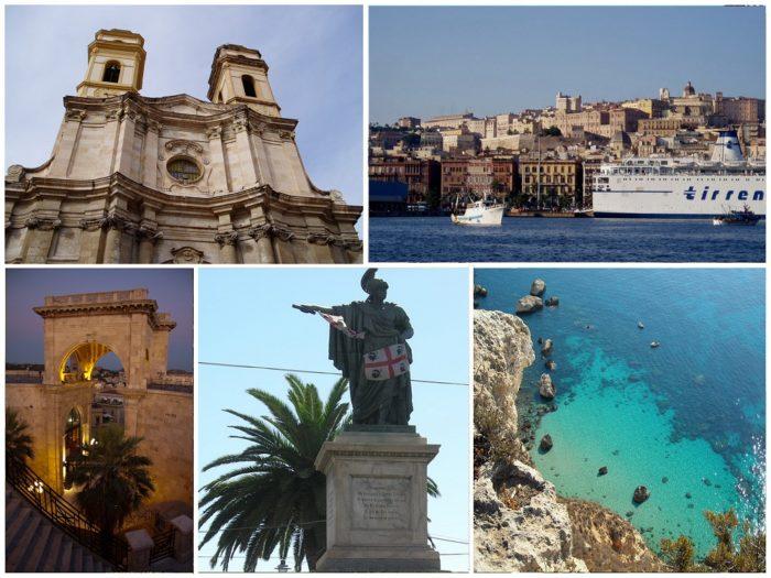 Collage Cagliari Sardinia