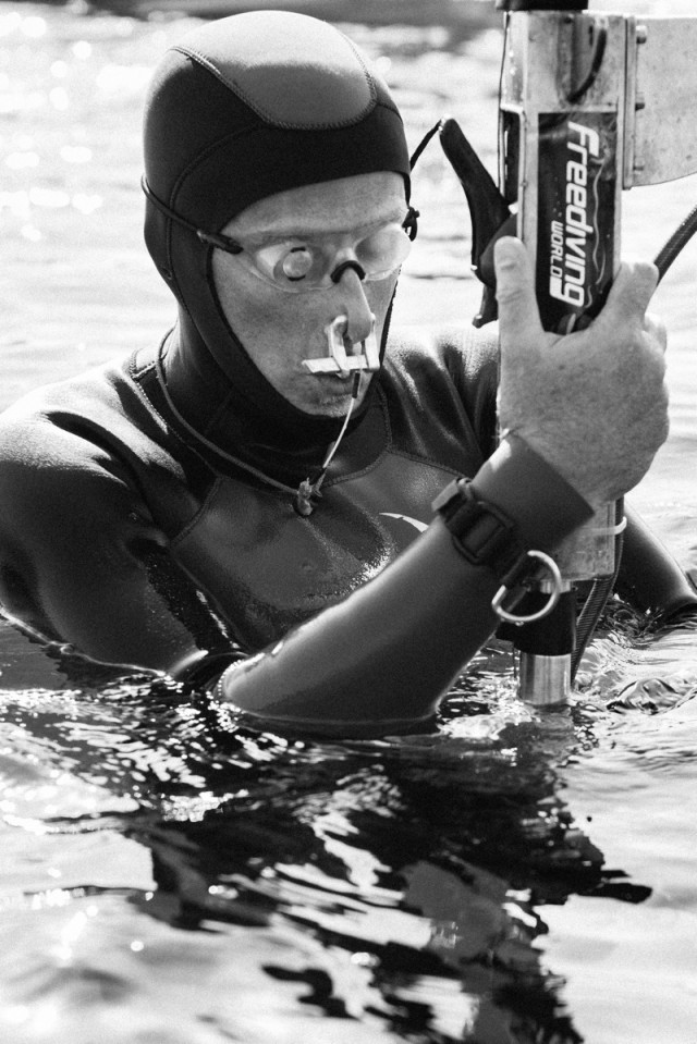 On Sharks and Sleds -- an interview with World Record-Holder William Winram 2