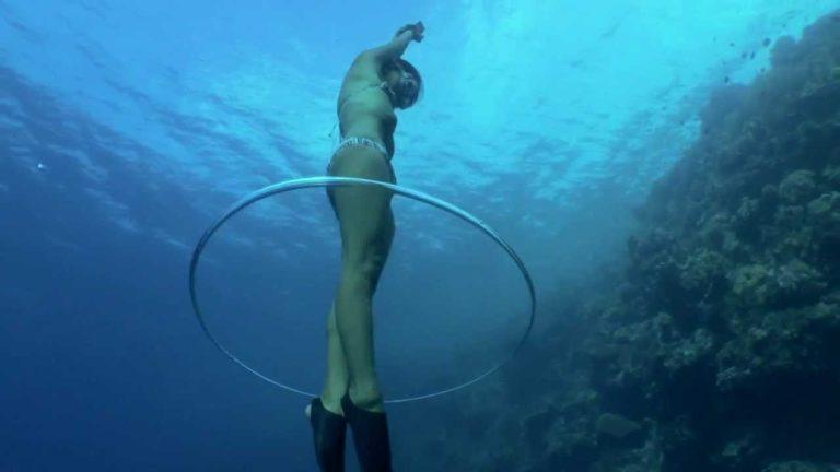 [VIDEO] Underwater Harmonist Ai Futaki at Wakatobi