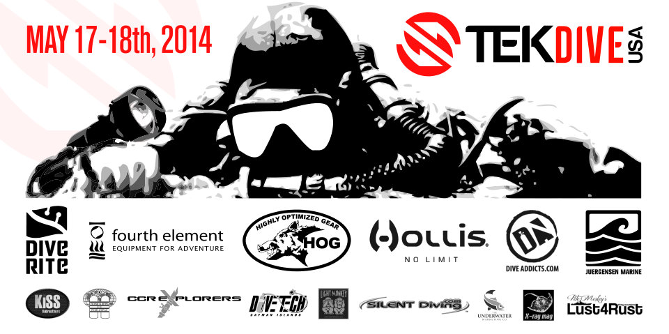TEKDiveUSA 2014 Conference Coming Up In May 2