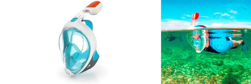new snorkeling mask developed