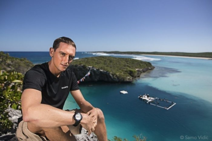 William Trubridge At Deans Blue Hole