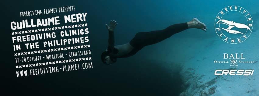 Freediving Planet to Host Guillaume Nery Freediving Clinics in Philipines 2