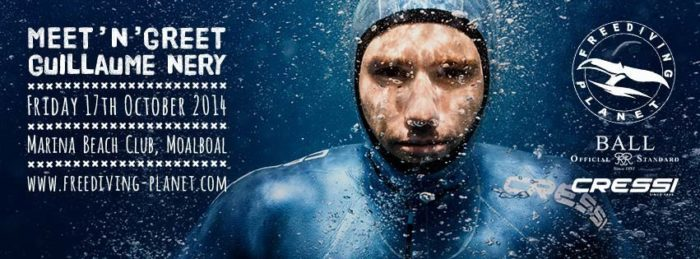 Freediving Planet to Host Guillaume Nery Freediving Clinics in Philipines freediving education training  phillipines news Guillaume Nery freediving planet freediving