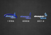 The Evolution of the DeeperBlue.com Logo