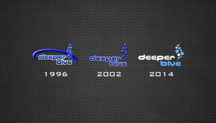 Welcome to the New DeeperBlue Logo