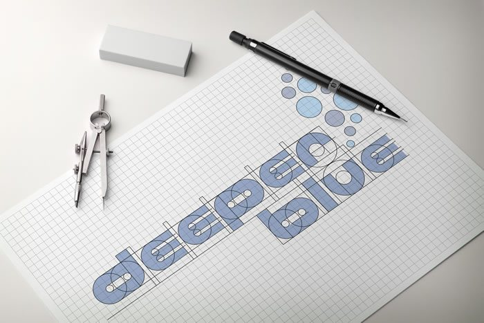 DeeperBlue Logo 2014 Geometry