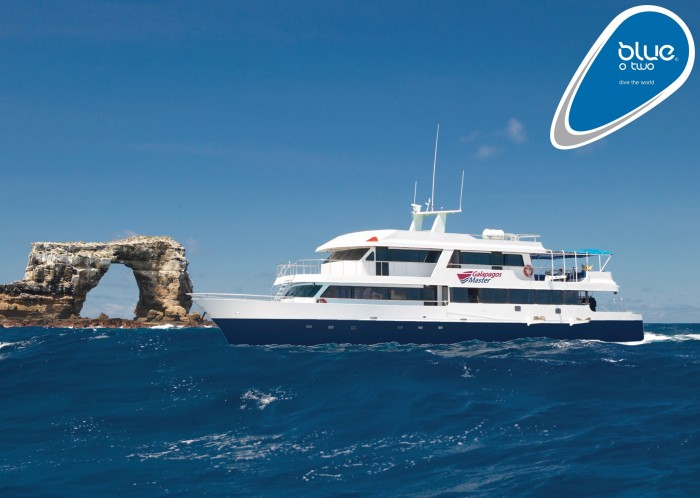 Blue O Two To Conduct Liveaboard Galapagos Dive Trips In 2015 scuba travel  news m/v galapagos master liveaboard galapagos blue o two