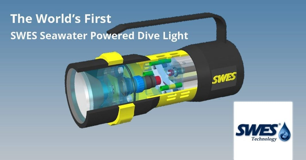 Seawater-Powered Dive Light Developers Start Crowdfunding Campaign 1