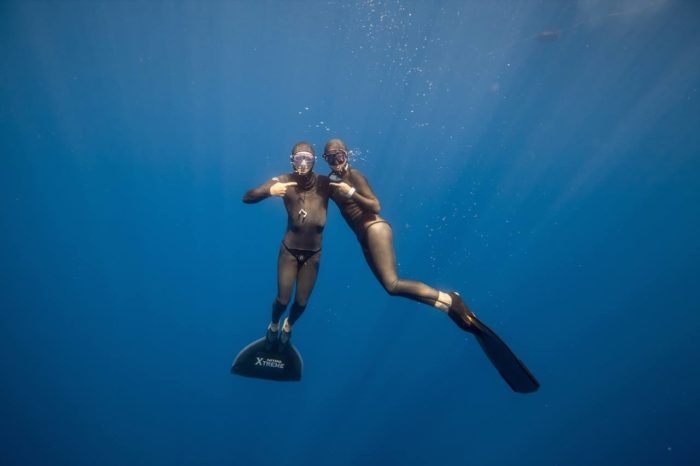 2014 Freediving Cup Circuit - Liv and Jesper