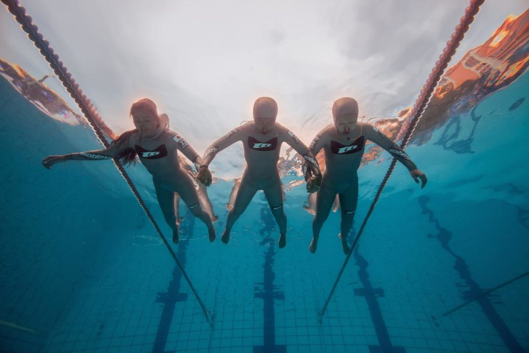 [GALLERY] Static Training Day 1 from 2014 AIDA Team World Freediving Championships 2