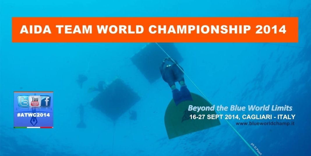 Video Streaming Available from 2014 AIDA Team World Freediving Championships 1