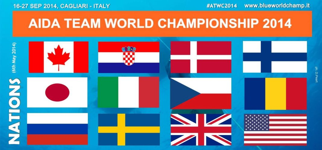 Country Teams for AIDA Team World Freediving Championships Announced 1
