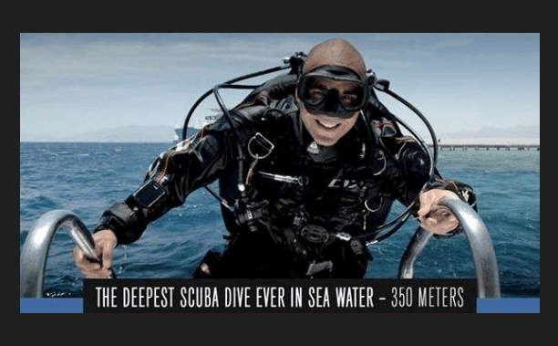 Egyptian Scuba Diver To Attempt World Record Deep Dive