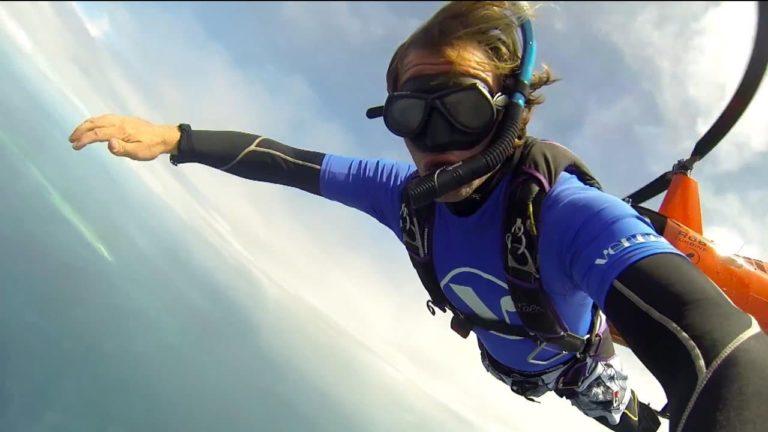 [VIDEO] Scuba Skydiving