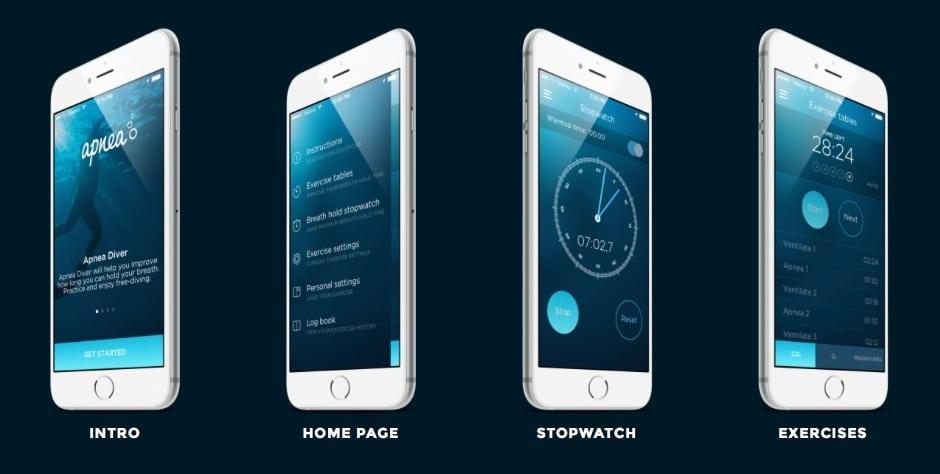 Apnea Diver App Released For iOS 1
