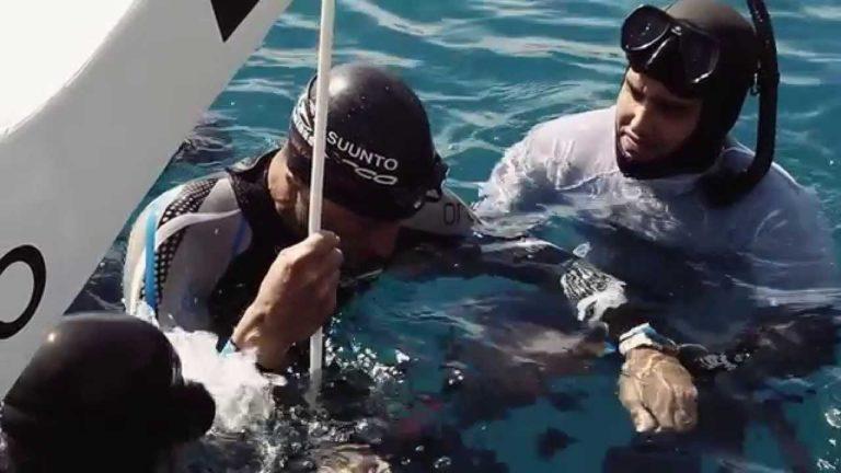 [VIDEO] William Trubridge's 102m Deep Dive