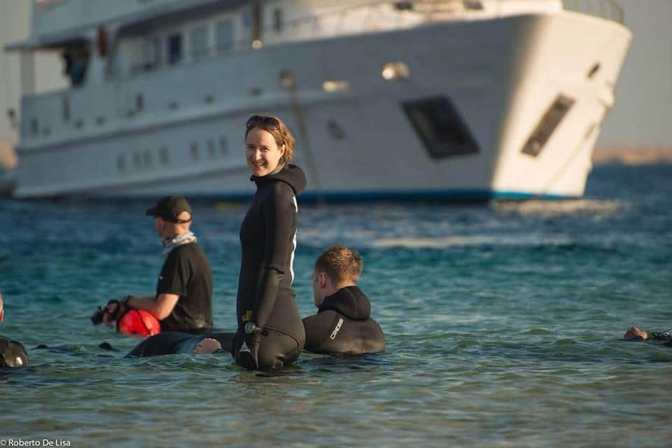 Emma Farrell To Give Freediving Lecture At Top UK University 1