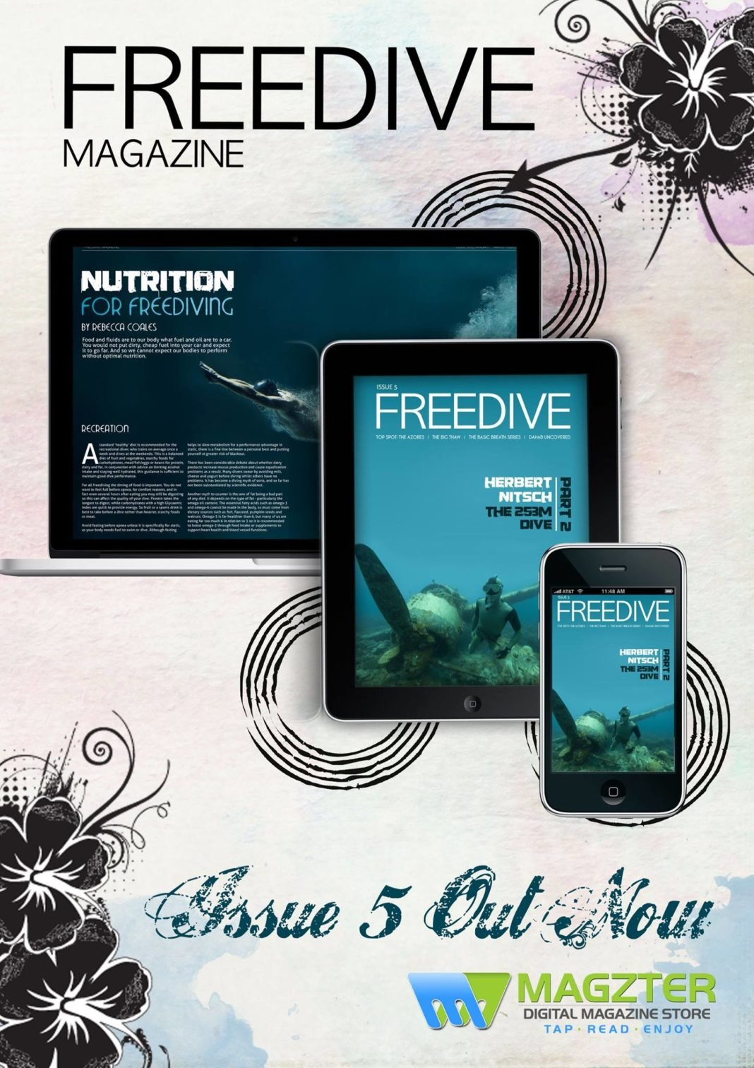 Issue 5 of Freedive Magazine Now Available 2