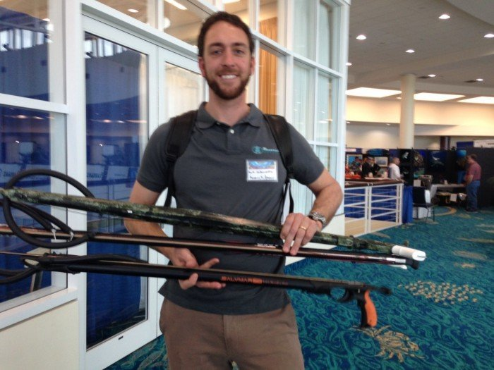 Mark Laboccetta Unveils New Spearfishing Company At Blue Wild Expo