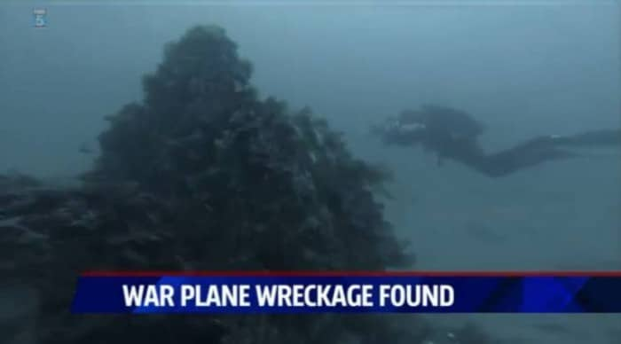 Divers Find Korean War-Era Airplane Off San Diego 1