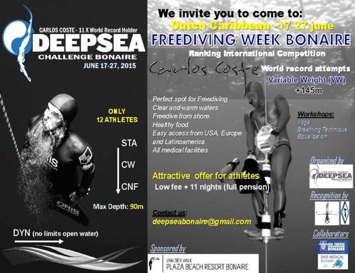 Deepsea Challenge Event  - Carlos Coste