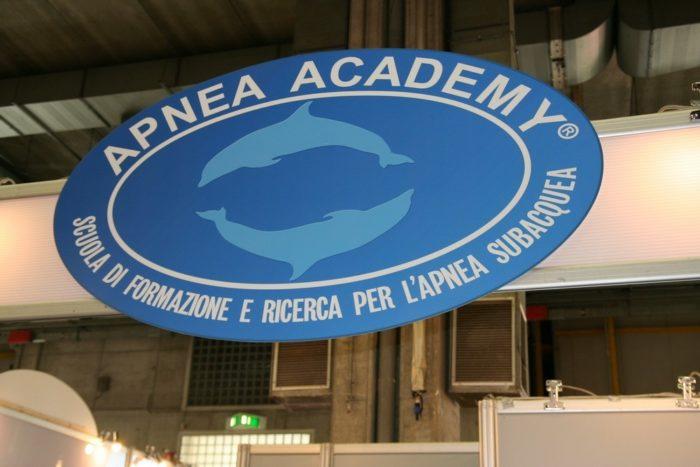 EUDI Show Apnea Academy of Umberto Pellizzari of course is at the show