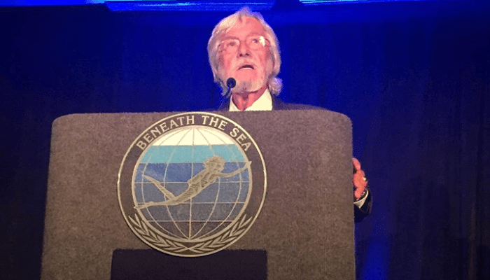 Jean-Michel Cousteau Presented 'Legend Of The Sea' Award 2