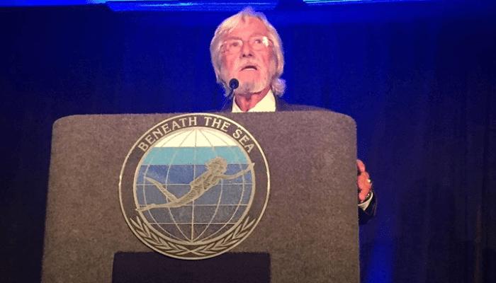 Jean-Michel Cousteau Presented 'Legend Of The Sea' Award 1