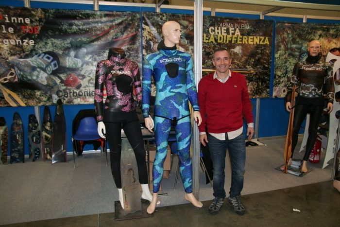EUDI Show Giuliano Tagliacozzo, owner of Polosub LR