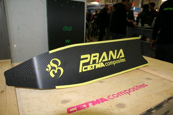 New Prana caron and glass fiber RIS