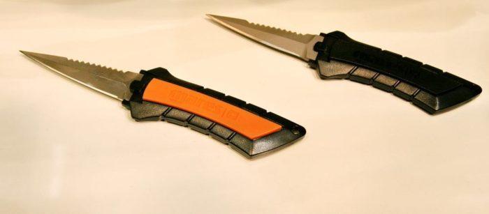 EUDI Show Steel and titanium Mini Knives Mares