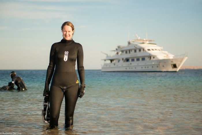 Emma Farrell Go Freediving