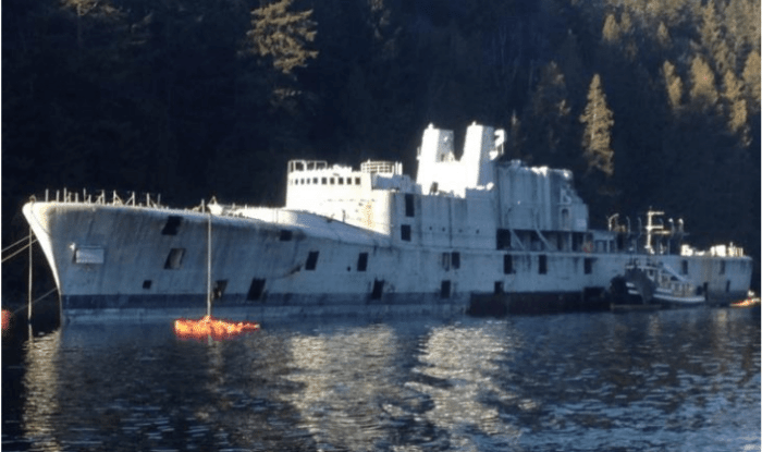 Canadian Destroyer To Become Artificial Reef This Weekend 1