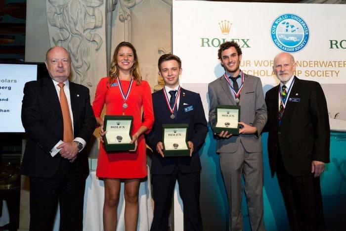 Our World Underwater Announces Latest Rolex Scholarship Recipients 2