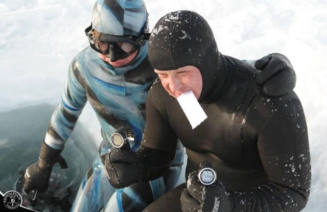 North Pole Freediving Challenge 2015 2