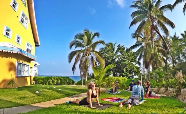 yoga training at DB6