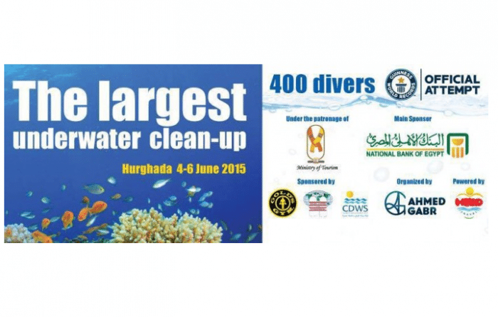 World Record Scuba Diver Organizing Biggest Underwater Cleanup 2