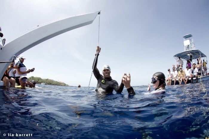 Carlos Correa - 72m Free Immersion (FIM)