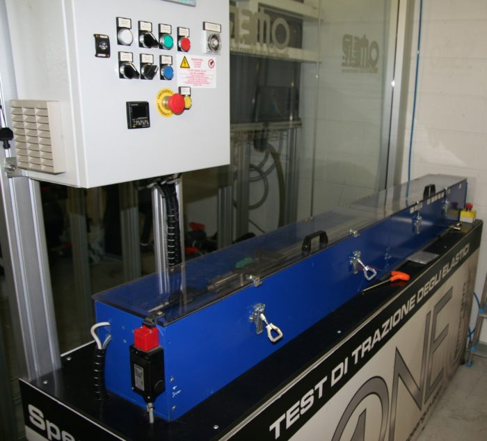 Omersub rubber bands traction test machine