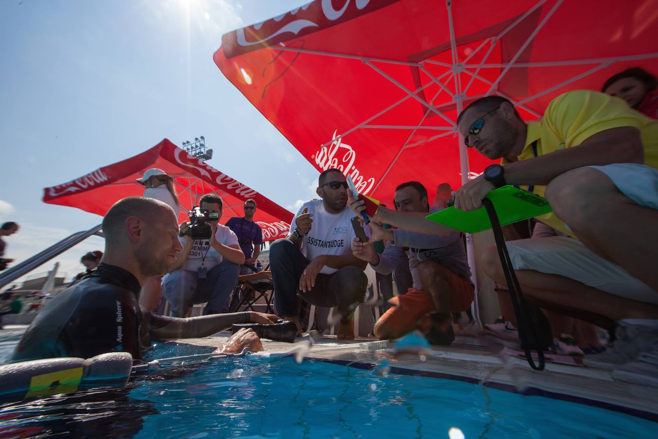 [GALLERY] AIDA Freediving Pool World Championships 2015 - DNF Qualifiers 11