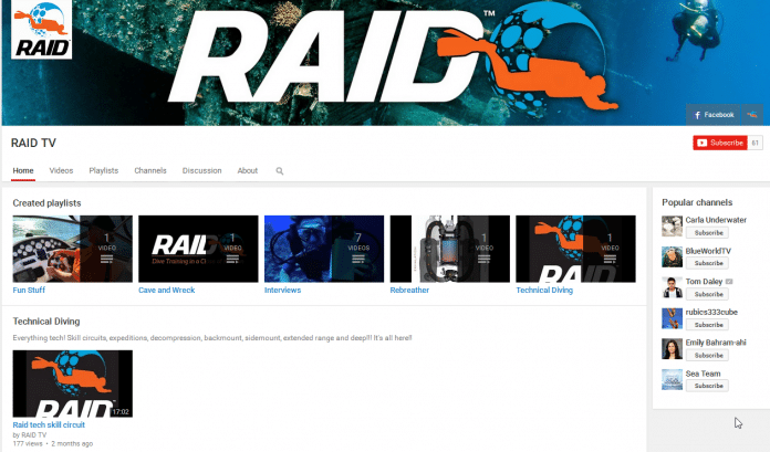 RAID TV - YouTube Channel