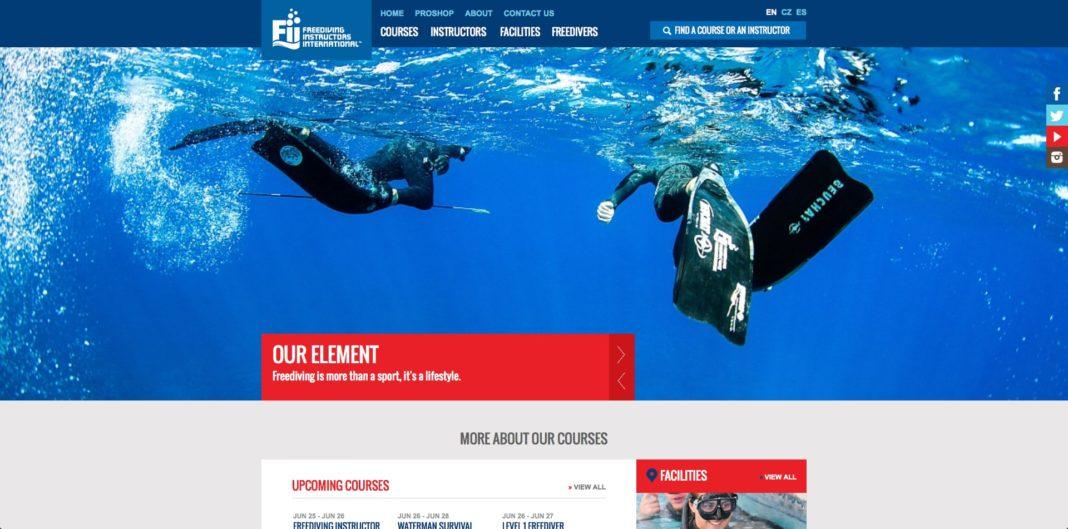 Freediving Instructors International Homepage